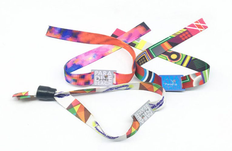 RFID Woven Wristband | Fabric diposable bracelet