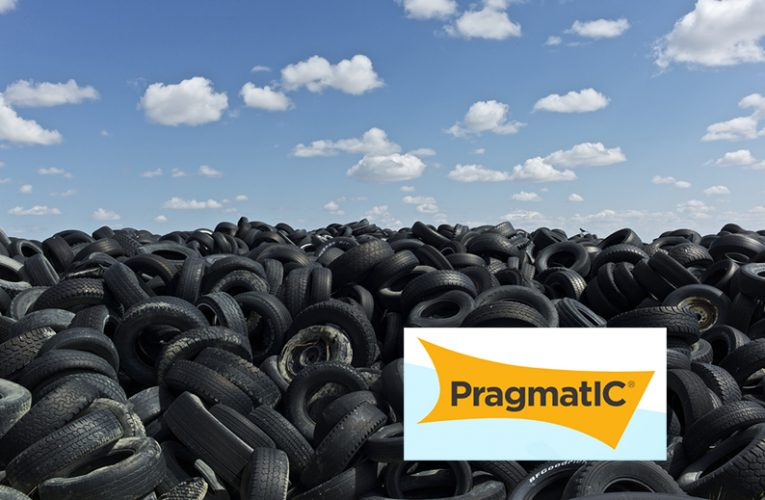 PragmatIC RFID tag track waste tires